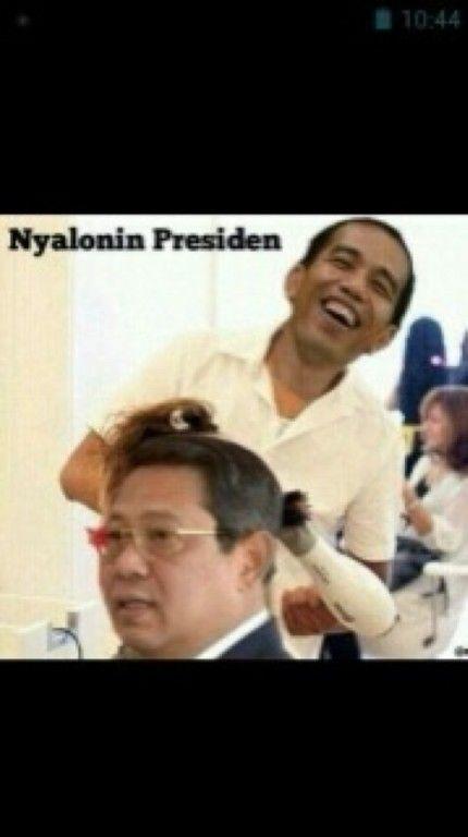 Nyalonin Presiden
