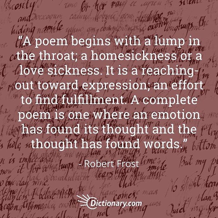 Like all of yours do for me, Robert Frost. <3