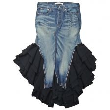 JUNYA WATANABE Blue Denim / Jeans Skirt