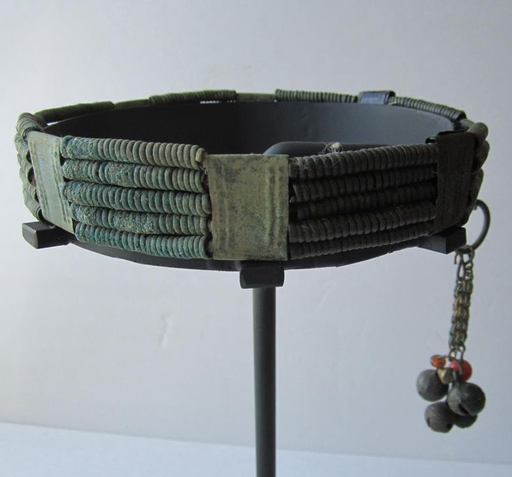 A fully restored VIKING woman's BRONZE Crown (diadem), Latvia c1000AD.