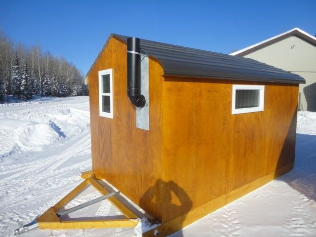 30+ Ice Shanty Inspirations for a Comfy Ice Fishing Trip