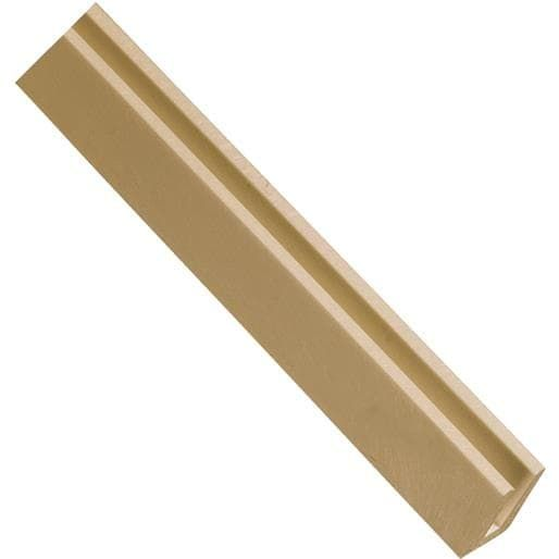 Ufpi Plastic Lattice Cedar U Cap 79969 Unit: Each, Brown almond