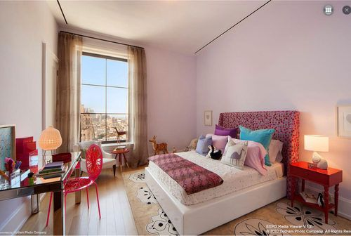 Cameron Diaz home in Chelsea's Walker Tower, Curbed NY - Bedroom