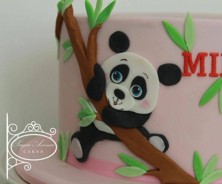 Cute Panda cake