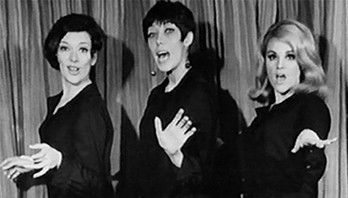 Dixie Carter, Lily Tomlin and Madeline Kahn, 1963
