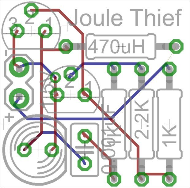 The simple Joule Thief