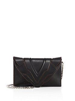 Elena Ghisellini - Selina Small Leather Clutch