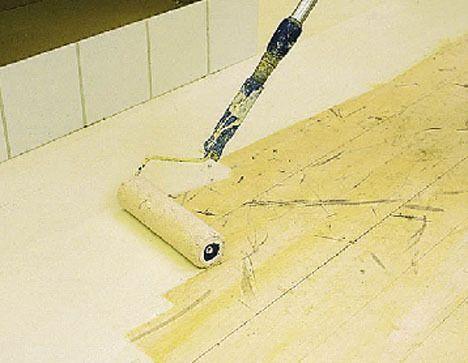 Hvordan male og lasére gulv