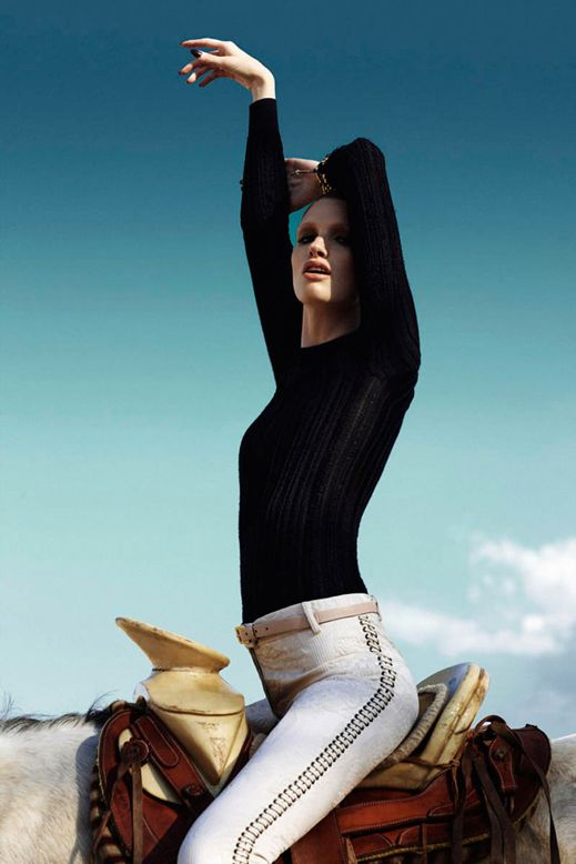 www.lacavalieremasquee.com / Kara Erwin is Equestrian Chic for Marie Claire Latin America by Vladimir Marti
