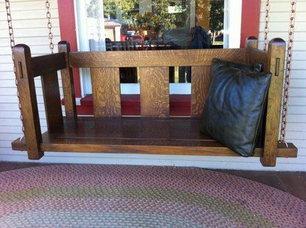 Stickley Mission Style Porch Swing