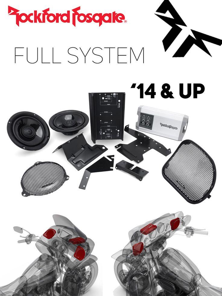 HD14-TKIT Power Harley-Davidson® Street Glide® (2014+) & Road Glide® (2015+) Front Audio Kit