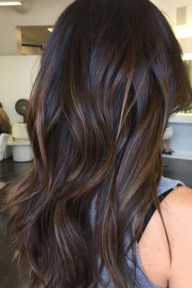 Subtle Brunette Balayage Summer Brown Hair Hair Styles Brunette Balayage Hair