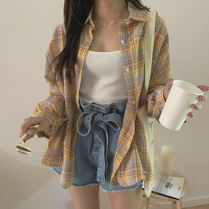 Girl Classic Wear Ideas Stylish Summer 2021 Cute Korean Amazon Tiktok Highschool Korean Fashion Fashion Inspo Outfits Clothes