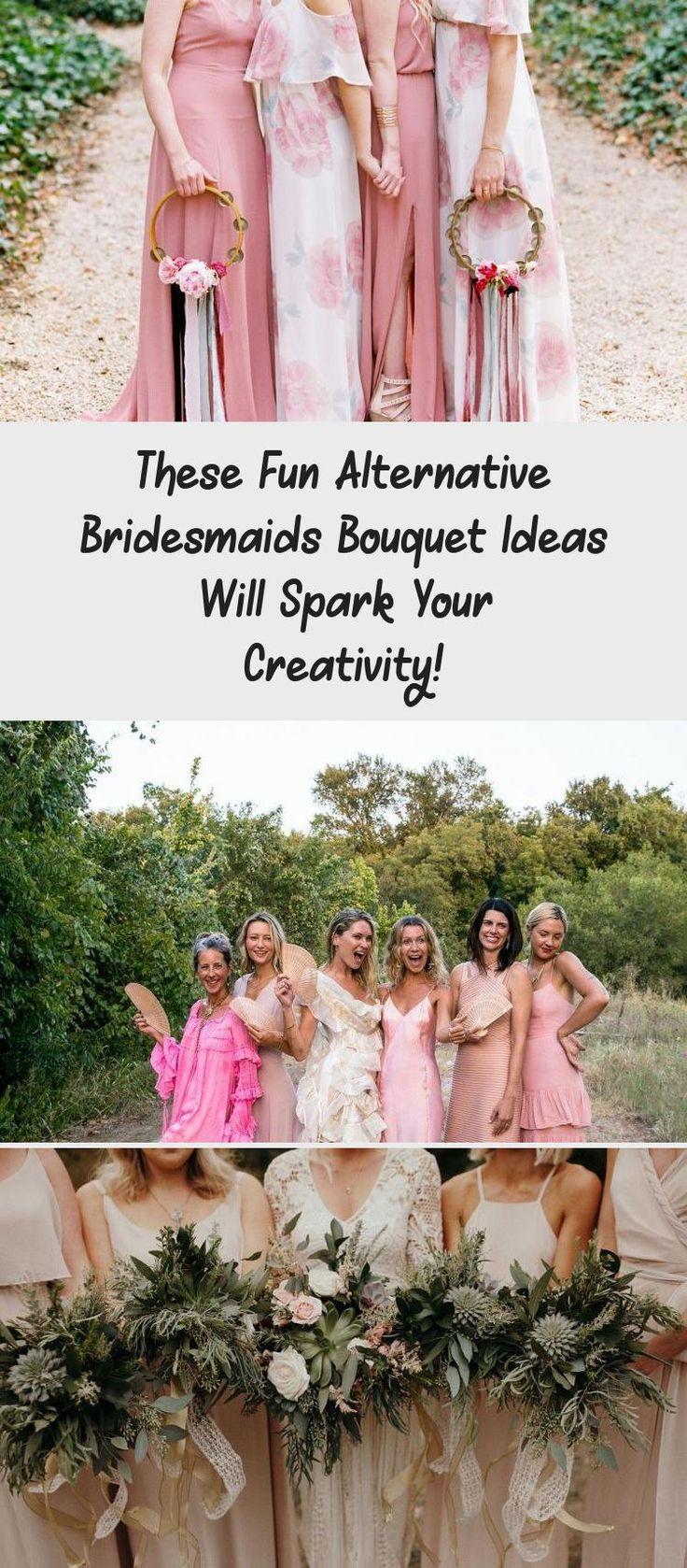 These Fun Alternative Bridesmaids Bouquet Ideas Will Spark Your Creativity! - Green Wedding Shoes #BridesmaidDressesBeach #BridesmaidDresses2018 #BridesmaidDressesWinter #TanBridesmaidDresses #BridesmaidDressesShort
