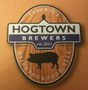Local Hogtown Brewers' beer. #toronto