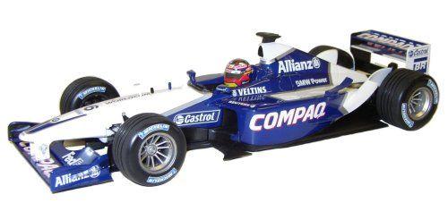 1-18 Scale 1:18 Minichamps Williams BMW FW24 Race Car 2002 - Juan Pablo Montoya Juan Pablos 2002 season race car, featuring the Compaq liveries as used in all 2002 races up to http://www.comparestoreprices.co.uk/formula-1-cars/1-18-scale-118-minichamps-williams-bmw-fw24-race-car-2002--juan-pablo-montoya.asp