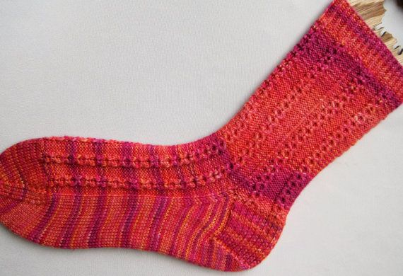 Knit Ribbed Socks Pattern
