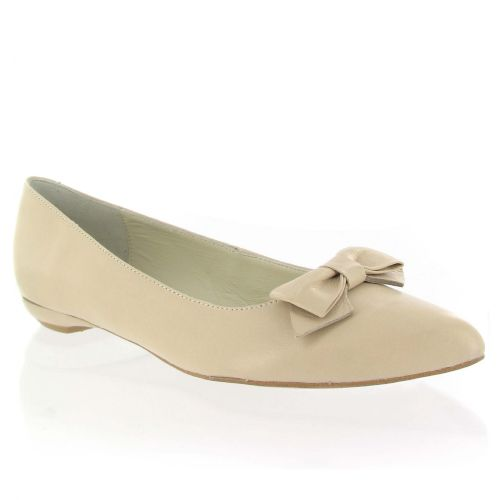 Nude Leather Court Shoe with Bow, Was £110, Now £55 #weddingoutfit