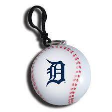 MLB DETROIT TIGERS SPORTS BALL CLEAR PONCHO