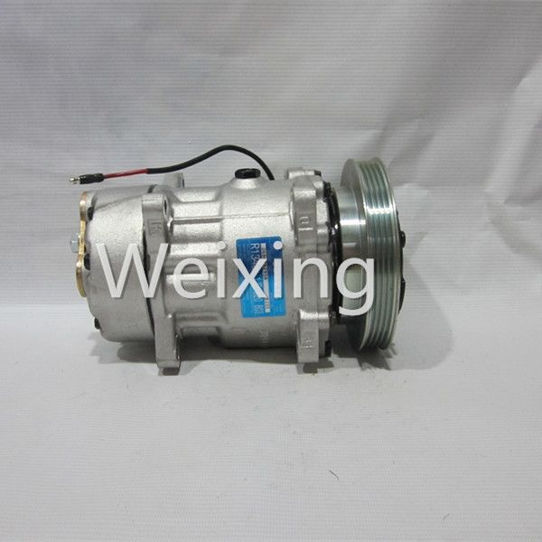 90.00$  Buy here - http://aliwlo.worldwells.pw/go.php?t=1879217525 - Car Air Compressor Price Pump SD7V16 4PK for Renault Megane 1995-2003 9642800780 7700272987 7701499820
