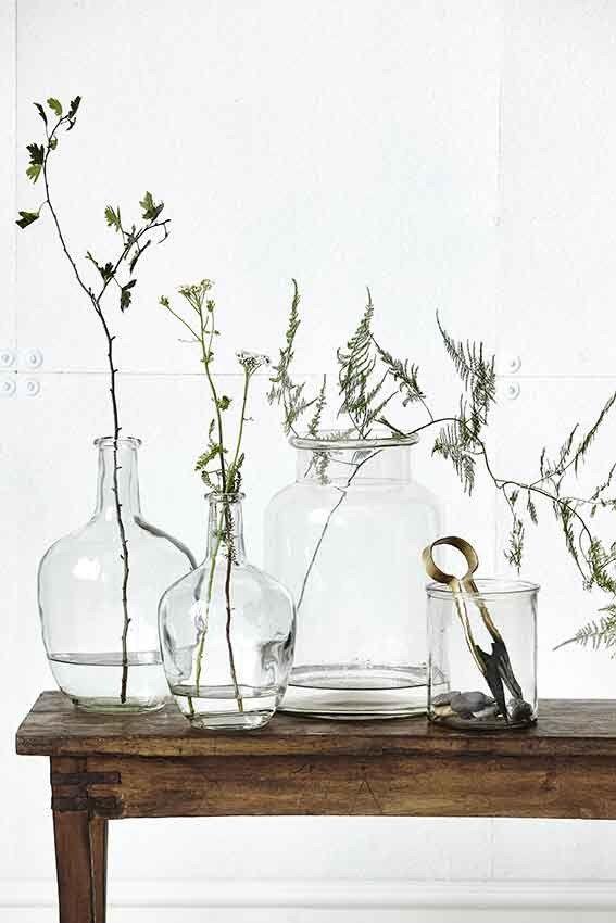 Glassvase fra House Doctor | Bolina Interiørbutikk + Møbler, Klær og Accessories – Bolina.no