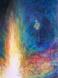 watercolour bonfire - Google Search
