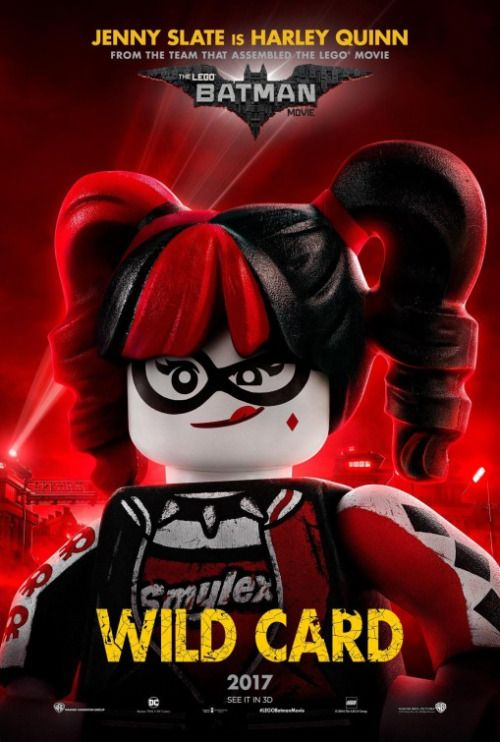 'The Lego Batman Movie' Harley Quinn Poster