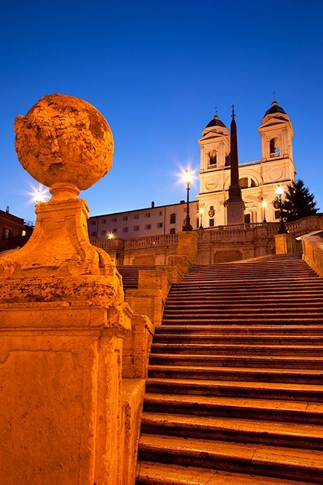 The magnificent Spanish Steps, Rome... sat right there!