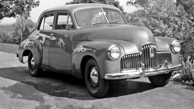 1950 secret FJ Holden prototype