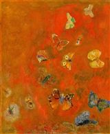 Odilon Redon: Evocation of Butterflies  (25.201) — The Detroit Institute of Arts