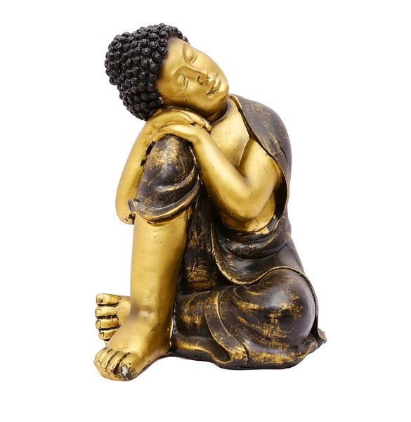 The Buddhist monk signifies teachings of Buddha. This piece of art will usher into your surroundings the qualities of monks : learning, harmony and discipline.