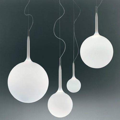 Globe Milk White Round Ball Glass Pendant Lights for Dining Room Modern Simple Lighting Home Deco Stair lamps L1