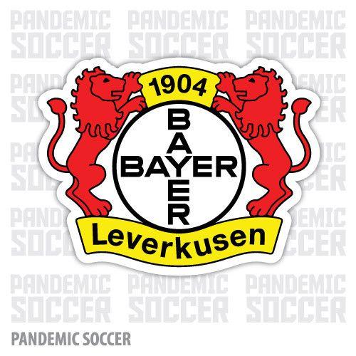 Bayer Leverkusen Germany Color Vinyl Sticker Decal