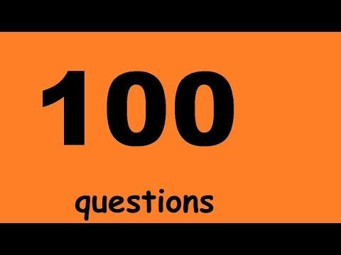 Разговорный английский для начинающих - 100 вопросов. Учим английский язык. Уроки английского языка - YouTube