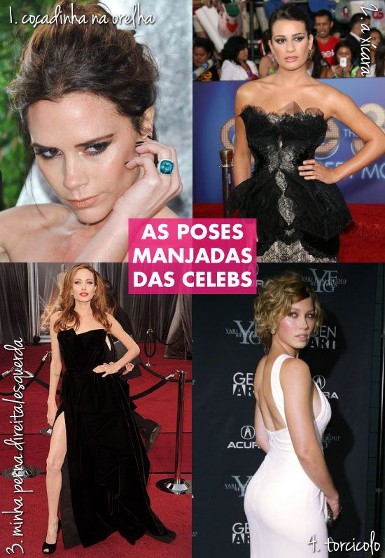 Red carpet, tapete vermelho, poses, posing, Lea Michele, Jessica Biel, Angelina Jolie, jóias, fenda, decote, magreza, foto