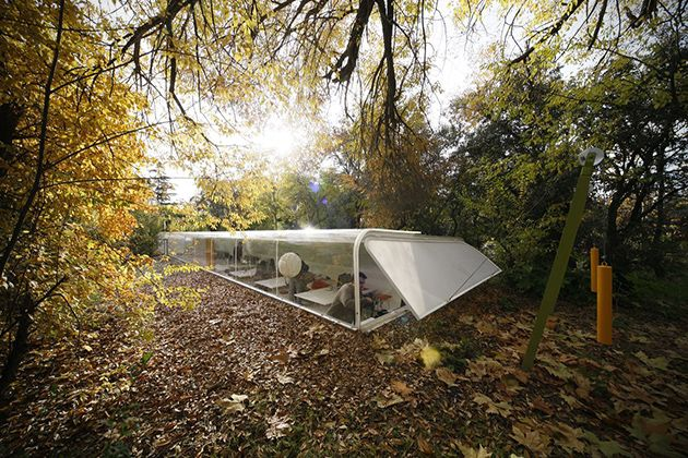 Selgas Cano Architecture Office in the Woods of Madrid