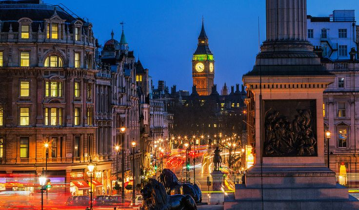 london, лондон, whitehall, уайтхолл, улица, дорога, trafalgar square, трафальгарская площадь