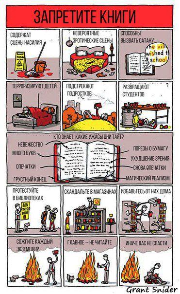 Запретите книги!