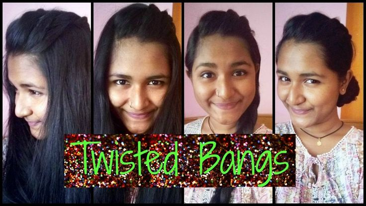 How To Twist Bangs | Basic + Easy Way
