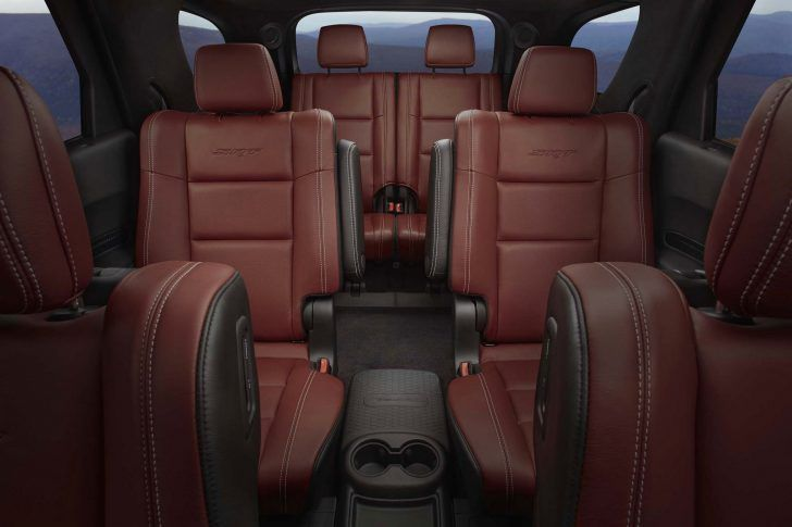 2018 Dodge Durango SRT Passenger Seats