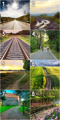 Как вы выбираете свой жизненный путь: 8 типов личности   Выбор жизненного пути не определяется нами в какой-то момент. Мы меняем свои решения в зависимости от обстоятельств, однако, какая-то главная цель, направление или тенденция все же сопутствует нашему выбору. Хотите узнать, что руководит вашим выбором? О том, как мы выбираем для себя жизненный путь как в буквальном, так и в символичном смысле, психологи делают выводы по результатам тестирования. Даже визуальная интерпретация о многом…