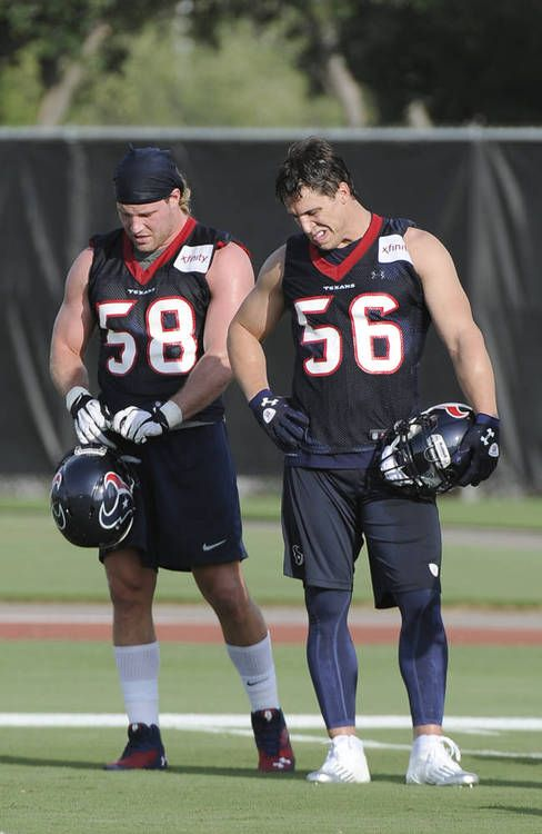 Brian Cushing 2019 Training Camp