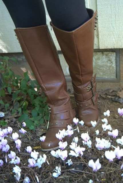 Cathy Jean boots. Authentically urban