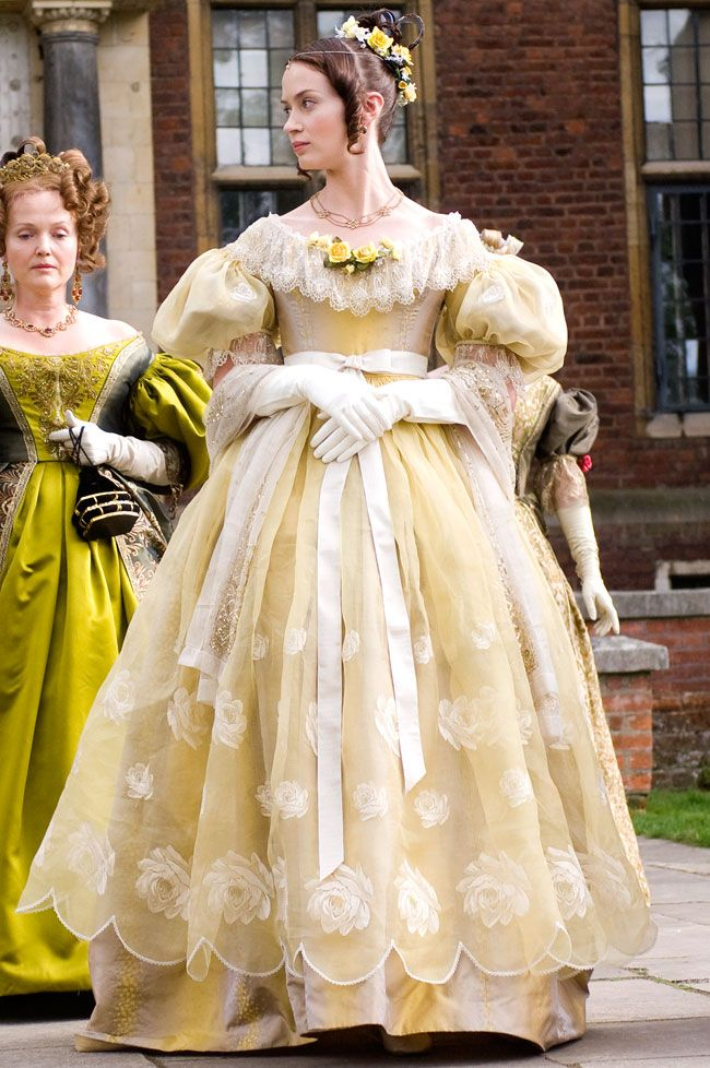 (2009) 'The Young Victoria' starring Miranda Richardson and Emily Blunt as The Duchess of Kent (mother of Victoria) and Queen Victoria.