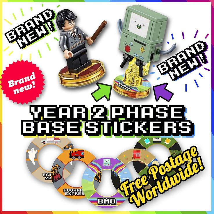 Best Lego Dimensions Base Stickers Images On Pinterest - How to make homemade lego decals
