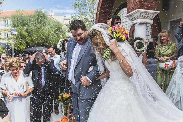 #wedding #weddingphotography #church #groom #bride #bridalphotography #rice #love #happy #γαμπρος #νυφη #γαμος #φωτογραφιαγαμου #ρυζι #ceremony #ckphotography