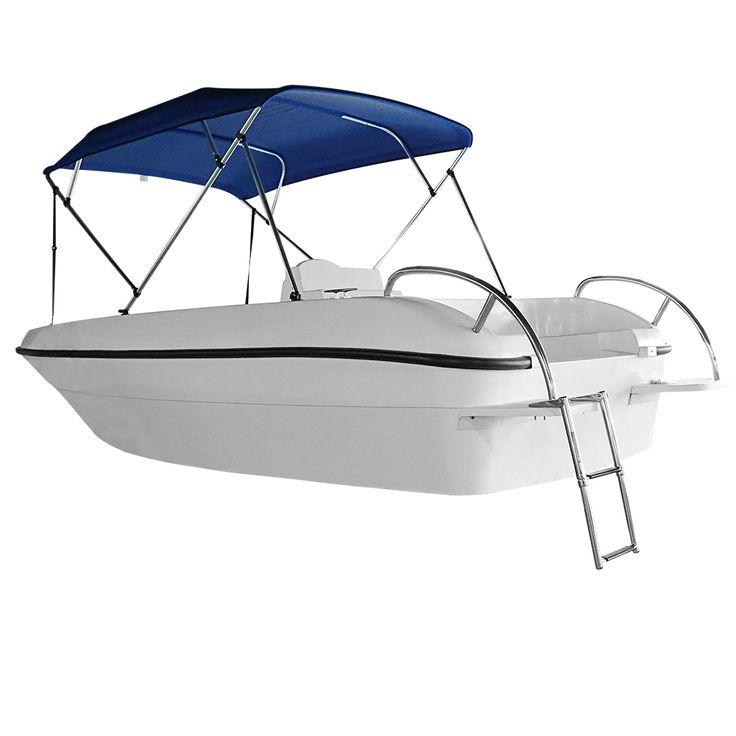 MSC acier Inoxydable 2 étape d'embarquement télescope échelle pour marine bateau piscine de natation étapes de qualité marine en acier inoxydable