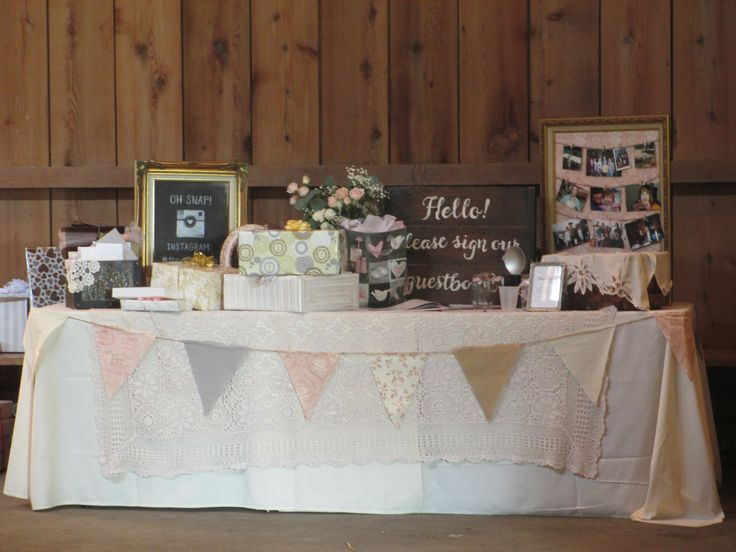Gift Table Wedding Ideas: Weddings At Genesee Country Village