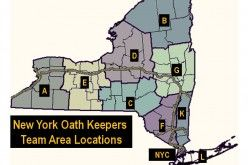 Armed Oath Keepers Guard New York Military Recruitment Center