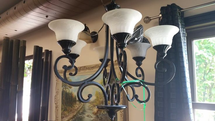 Happy Monday! We have some fabulous chandeliers in store, this beauty is in our #collingwood location, love it!